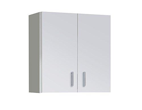 Habitdesign 005148O - Armoire polyvalente, blanche, dimensions : 60 x 59 x 26,5 cm bas