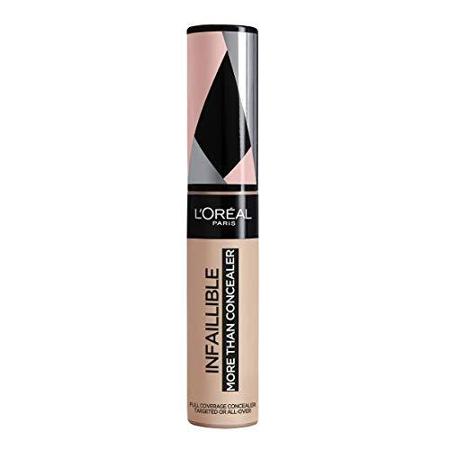L'Oréal Paris Infaillible Plus que Cache-cernes, Cache-cernes Complet, Tone 324 Avoine/Avoine - 11 ml