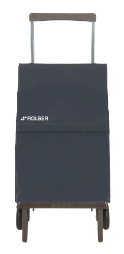 Rolser PLE047 Plegamatic - Panier (Original Model Bag/MF), Couleur Gris
