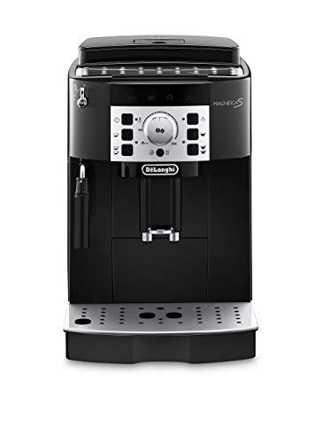 De'longhi Magnifica S Ecam 22.110.B - Cafetière super automatique, 15 bar de pression, 13 programmes réglables, autonettoyant, système cappuccino, noir