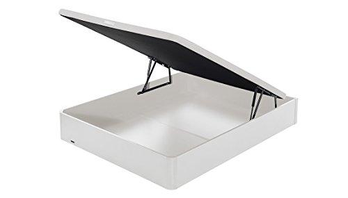 FLEX - Couvercle Canapé Pliant en Bois Respirant 3D - 180X200, Couleur Blanc
