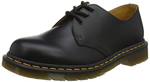 Martens 1461, Chaussures dentelle pour homme, noires, 43 EU