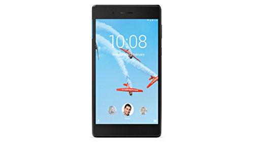 Lenovo TAB 7 Essential- 7' IPS Tablet (processeur MTK quad-core, 1 Go de RAM, mémoire interne eMMC 8 Go, caméra 2MP, système d'exploitation Android 7.1, WiFi + Bluetooth 4.0) noir