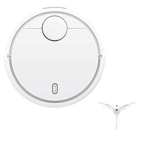 Xiaomi SDJQR02RRR - Aspirateur-robot à chargement automatique, aspiration super puissante, blanc