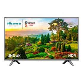 Hisense H49N5700 49' LED 4K Ultra HD Modèle 2017 TV, cadre gris foncé
