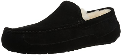 Ugg Australia Chaussons Hommes Ascot Closed End Metedera, Noir 2, Taille 8