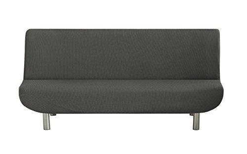 Eysa Ulises - Housse de canapé clic-clac élastique pour canapé, couleur grise