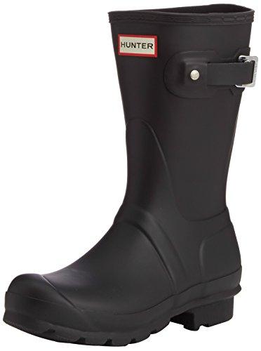 Short de chasseur, Bottes de pluie pour femmes, noir, 36 EU