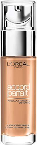 L'Oréal Fond de teint L'Oréal Accord Paris Parfait avec Fini naturel, Beige doré 3D tons clairs - 30 ml
