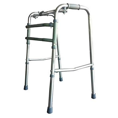 Marchette pour personnes âgées sans roulettes | Aluminium ultra-léger | Hauteur réglable | Pliable | Aide à la mobilité | Poids maximum 100 kg | Modèle Mosque | Mobiclinic