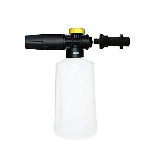 XZANTE Lance à neige en mousse pour Karcher K2 - K7 Ca?ón Pistolet à mousse haute pression tout plastique Buse à mousse portative pulvérisateur de savon tout plastique pour lave-auto