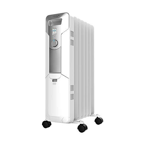 Cecotec Ready Warm 5600 Space - Radiateur à huile 7 modules, blanc