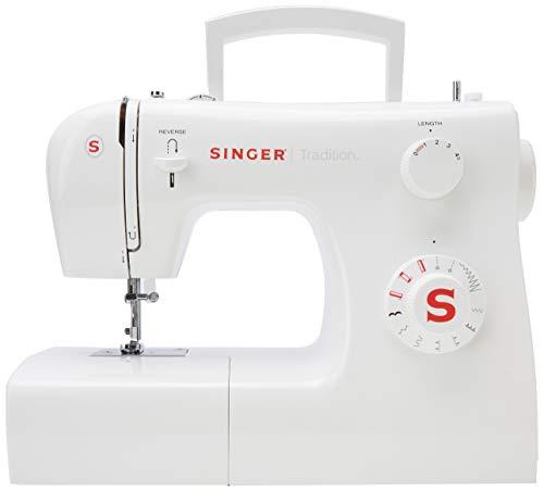 Singer 2250 Tradition - Machine à coudre mécanique, 10 points, 43 x 22 x 35,2 cm, couleur blanc