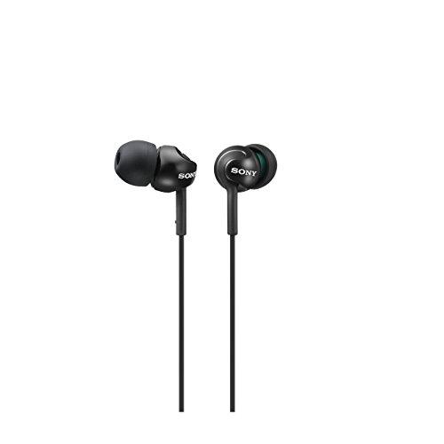 Sony MDR-EX110LP - Casque d'écoute intra-auriculaire, noir