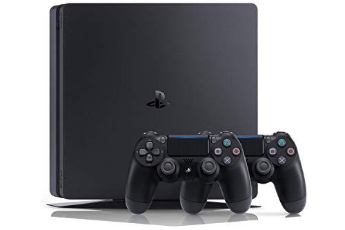 Playstation 4 (PS4) - Console 500 Go + 2 Contrôleurs Dual Shock 4 + Contenu Fortnite