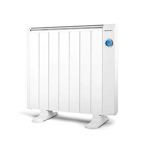 Orbegozo RRE 1310 Emetteur thermique, 1300 W, aluminium, couleur blanc