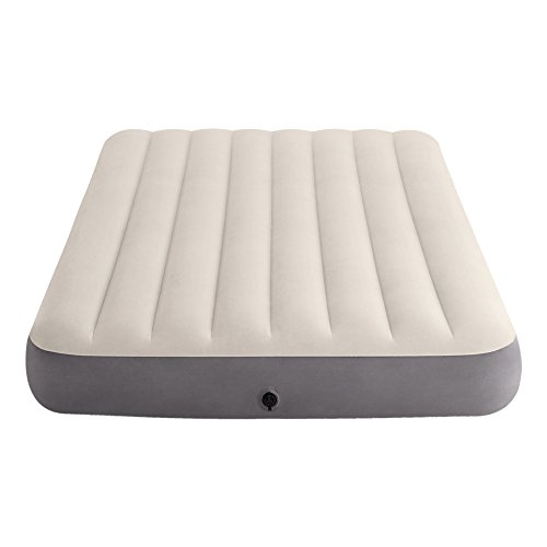 Intex 64102 Dura-Beam Standard Deluxe Single-High - Matelas gonflable, 137 x 191 x 25 cm