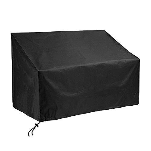 SIRUITON Housse de protection pour Bank of 4 Seats Housse de protection de jardin pour canapé imperméable à l'eau UV Anti-Ray Coating