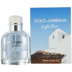 D & G Light Blue Living Stromboli Pour Homme By Dolce & Gabbana Edt Spray 2.5 Oz