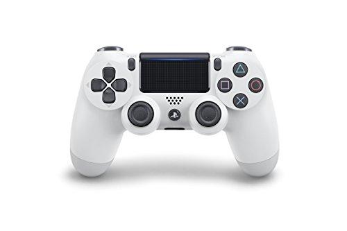 Playstation 4 - Manette sans fil Dualshock 4, blanc glacier (allemand importé)