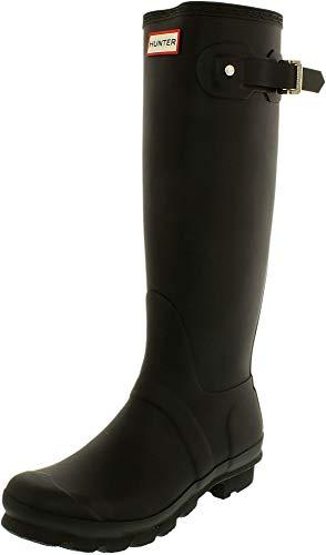 Hunter Original Tall Classic, Bottes d'eau unisexes pour adultes, noir (RmaBlack), 40/41 EU