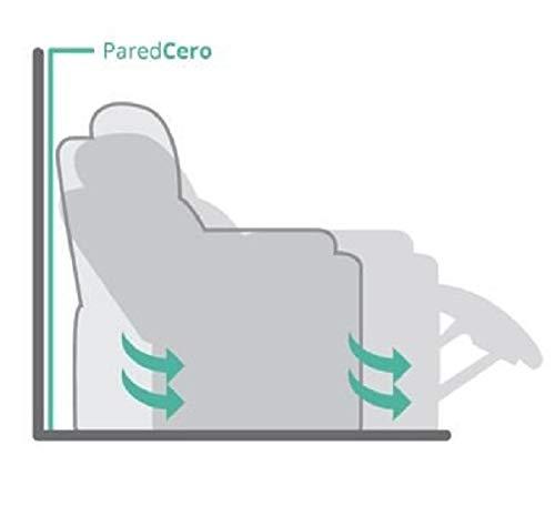 Fauteuil Astan Hogar Comfort Relax avec inclinaison manuelle, rembourré en PU Anti-Cuarteo. Modèle Premium AH-AR30600CH,
