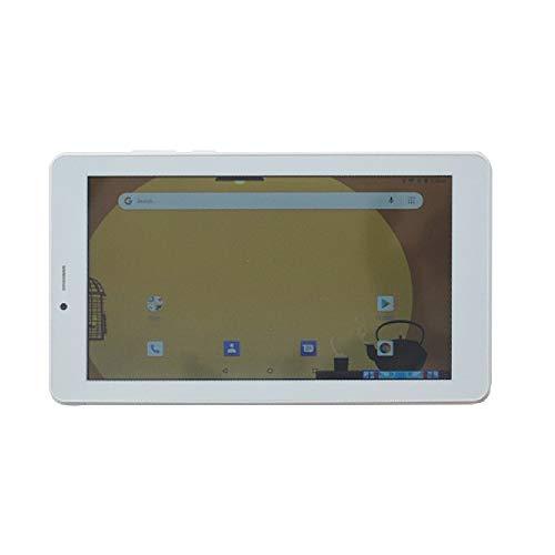 ibowin 7 pouces Android Oreo 8.1OS 1G RAM RAM 16G ROM 3G Mobile Tablet PC 1024x600 IPS Résolution gsm Certificat 3G WCDMA et 2G gsm WiFi + Cellulaire + Double carte SIM AGPS - Blanc