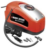 BLACK+DECKER ASI300-QS - Compresseur d'air, 160 PSI, 11 bar, multicolore (rouge/noir)