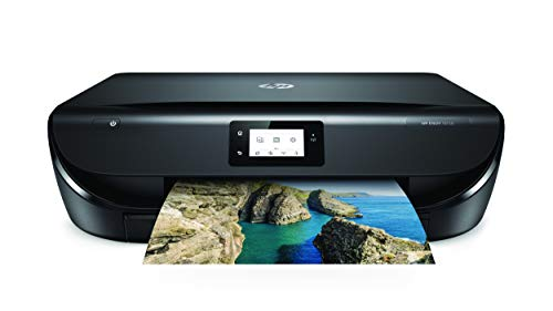 HP Envy 5030 - Imprimante multifonction sans fil (encre, Wi-Fi, copie, numérisation, 1200 x 1200 PPP, mode silencieux, 4 mois d'encre instantanée HP inclus) couleur noire