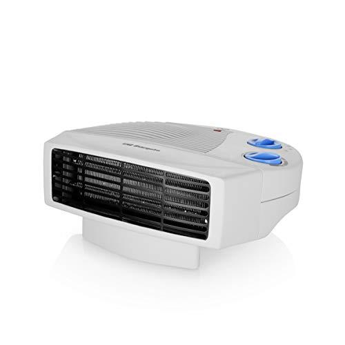 Orbegozo FH 5008 Chauffage électrique avec deux niveaux de chaleur et ventilateur d'air frais, 2000 W, couleur blanc