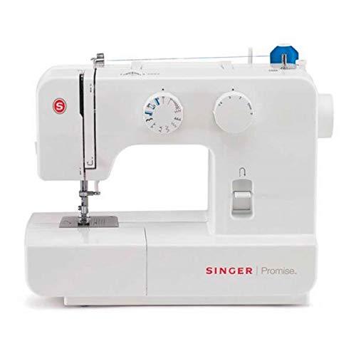 Singer Promise 1409 - Machine à coudre mécanique, 9 points, 120 V, couleur blanc