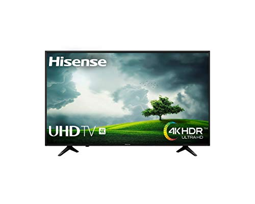 Hisense H55A6100 - TV Hisense 55' 4K, HDR, Smart TV VIDAA U, Super Inconvénientst, Precision Color, Depth Enhanced, Remote Now, Quad Core Processor