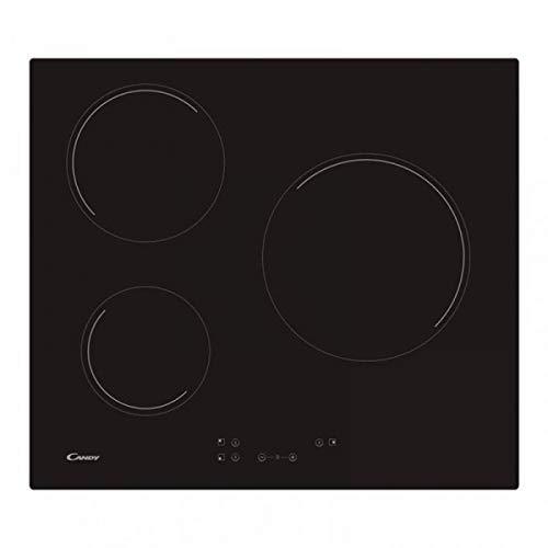 Bonbons 33801786 Comptoirs de cuisine, commandes tactiles, 3 zones, noir