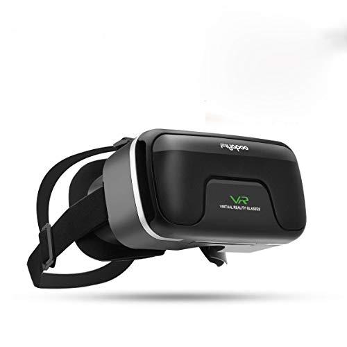 Lunettes de réalité virtuelle 3D VR, lunettes VR 360 degrés vue panoramique 3D Movie Immersive 3D jeu pour mobile 4.0-6.0 pouces