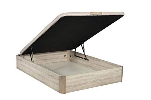 Santino Canapé en bois de grande capacité cambrien 150x200 cm avec montage à domicile gratuit