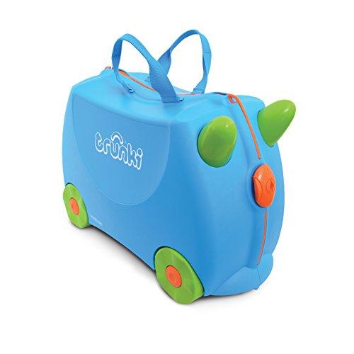 Trunki Valise pour bagage à main enfant : Terrance (Bleu)
