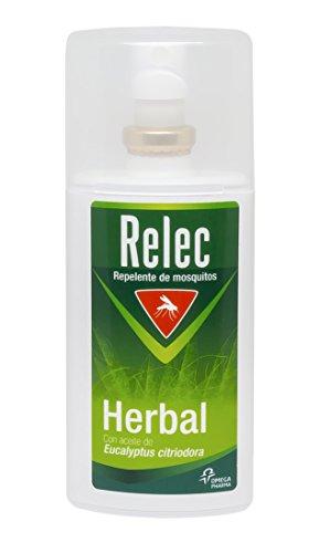 Relec Vaporisateur répulsif efficace à base de plantes avec ingrédients naturels - 75 ml