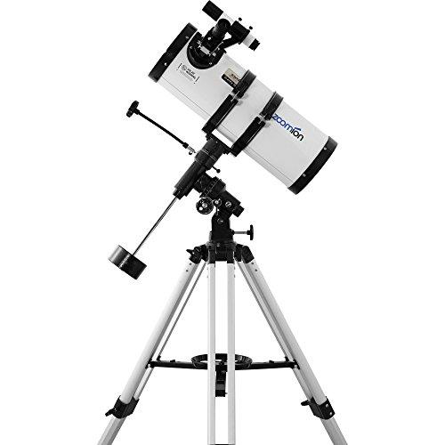 Zoomion Gravity 150 EQ, télescope astronomique 6' Réflecteur avec ouverture de 150mm et distance focale de 750mm