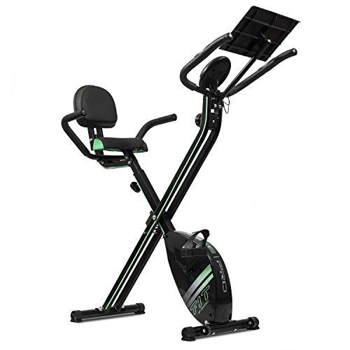 Cecotec 07016 XBike Pro - Vélo Pliant Magnétique (Moniteur de fréquence cardiaque, afficheur LCD, résistance variable)