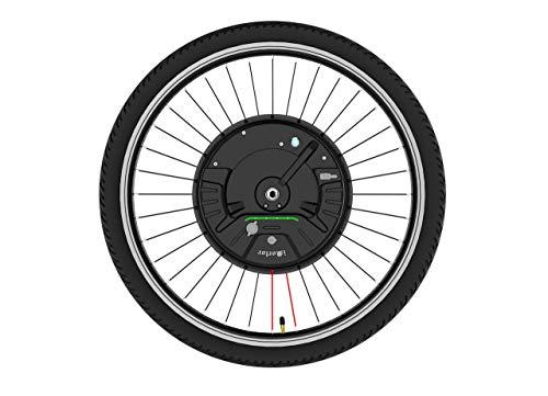 Kit de conversion de vélo électrique Imortor 3.0 sans fil ou avec un seul câble, tout en un, 40 km/hy 40 km (Bluetooth App + V Frein, roue de 24 pouces, pneu de 2,125 pouces)