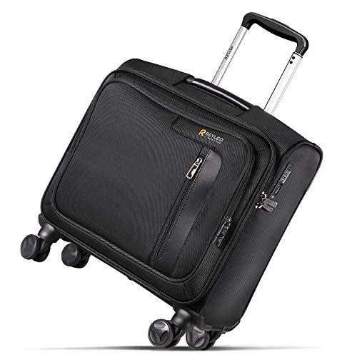Étui portatif avec roues, chariot pour ordinateur de bureau avec cadenas TSA et 2 compartiments, convient aux ordinateurs portables jusqu'à 14' KING LRB1A
