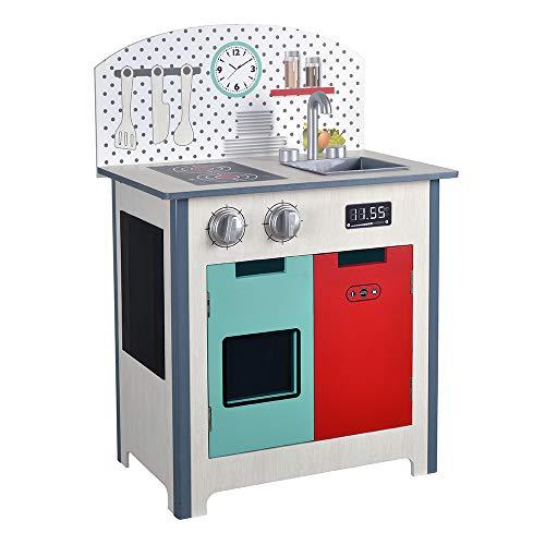 ColorBaby - Cuisine en bois 47 x 30 x 69 cm - Mode (85291)