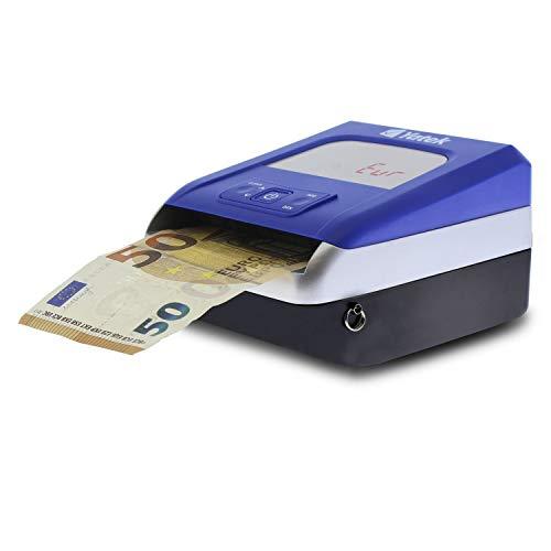 Détecteur de faux billets Euro Yatek SE-0709, 5 méthodes de détection, extensible, câble de mise à jour inclus, compte et ajoute le nombre de billets de banque.