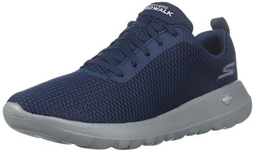 Skechers 54601, Chaussures Hommes, Bleu (Marine/Gris), 42 EU