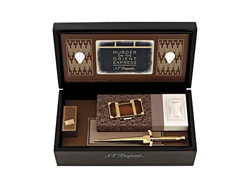 Set Briquet S.T. Dupont Edition Limitée Meurtre sur l'Orient Express