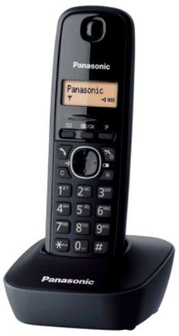 Panasonic KX-TG1611SPH - Téléphone sans fil, noir