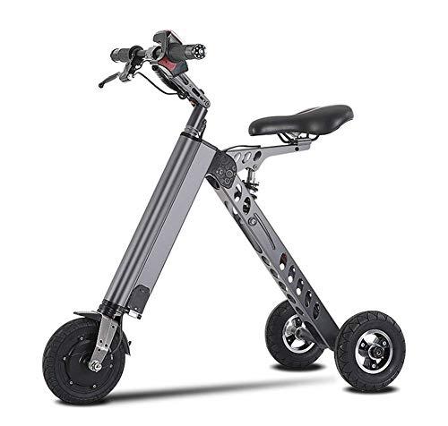 JL-Q Vélos électriques à trois roues Vélo électrique pour femmes Véhicule électrique Smart Balance Car K-Fold Vélo électrique pour adultes Scooter Unisexe