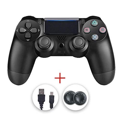 Manettes PS4, manette PS4, manette sans fil Gamepad Compatible avec Playstation 4 (Noir)