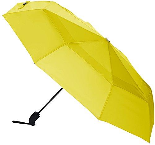AmazonBasics - Parapluie coupe-vent, jaune