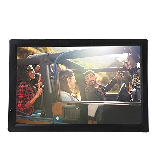 Télévision portable ASHATA 14 pouces, TFT-LED TV numérique pour voiture, HDTV LCD 1080P Télévision compatible avec MKV, MOV, AVI, WMV, MP4, FLV, MPEG1-4, RMVB, vidéo, MP3, MP3, support AV/SD/MMC/USB/HDMI/VGA carte.